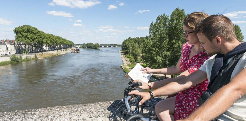 Loire à vélo à Orléans